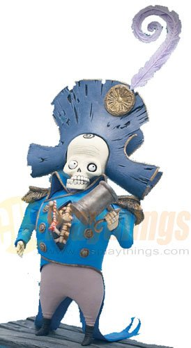 Mcfarlane Corpse Bride Action Figure Series 1 Dwarf General