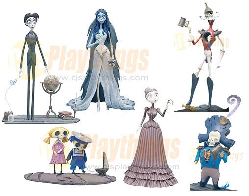 Mcfarlane Corpse Bride Action Figure Series 1 set of 6 Rare Buy it now