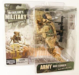 Mcfarlane Military series 3 Army M60 Machine Gunner Hispanic