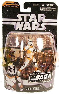 Star Wars Revenge of the Sith SAGA Orange CLONE TROOPER #26