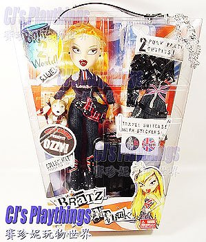 2005 Bratz World 2 London Pretty 'N' Punk CLOE