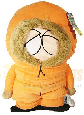 South Park Kenny Giant 30 Inch Cuddle Pillow Plush Doll