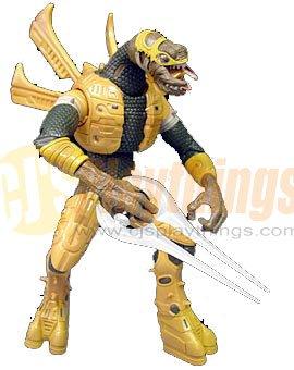 XBOX HALO 2 SERIES 7 HERETIC Yellow Gold ELITE w/ Energy Sword