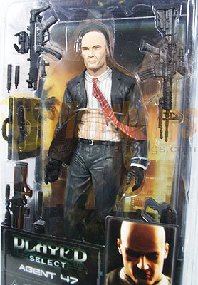 NECA Player Select series 1 Blood Money Hitman Action Figure