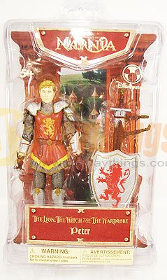 The CHRONICLES OF NARNIA Disney Action Figure Peter Mint