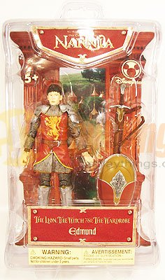 The CHRONICLES OF NARNIA Disney Action Figure Edmund Mint