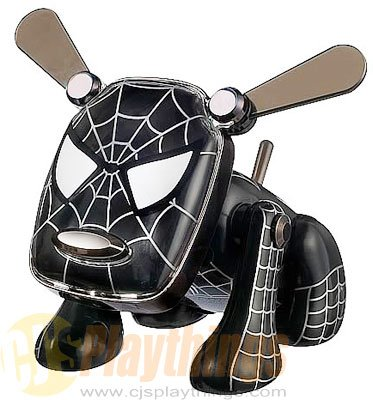 Spi-Dog SpiDog Revision Black Spider-Man MP3/CD/IPOD NANO I-DOG IDOG Spiderman