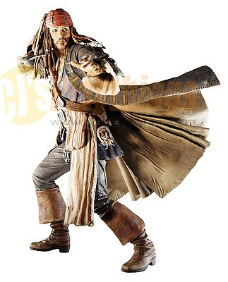 PIRATES OF CARIBBEAN At World's End Series 1 Jack Sparrow