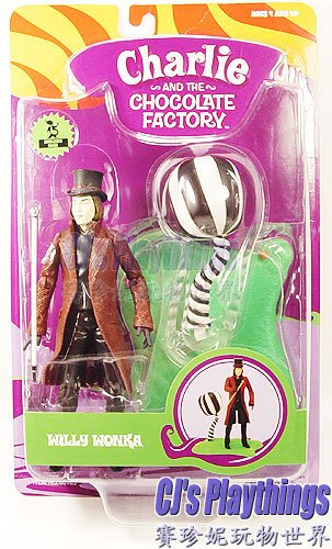 Charlie & The Chocolate Factory Action Figure Willy Wonka Johnny Depp