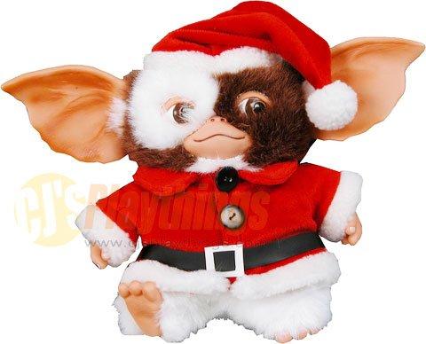 "NECA GREMLINS SANTA CLAUS Gizmo 6"" Plush XMAS Christmas"