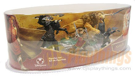 The CHRONICLES OF NARNIA PLAYSET Figure The Lion, The Witch and The Wardrobe Disney Exclusive