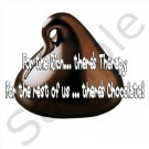 Funny Chocolate BBQ Kitchen Apron with Pockets - 13399698