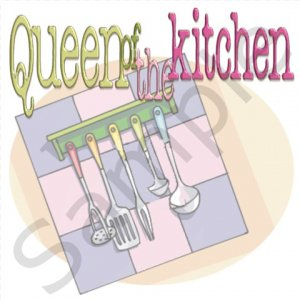 Queen of the Kitchen BBQ Kitchen Apron with Pockets - 13399373