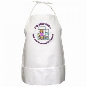 HOT FLASHES  BBQ Kitchen Apron with Pockets - 16262182