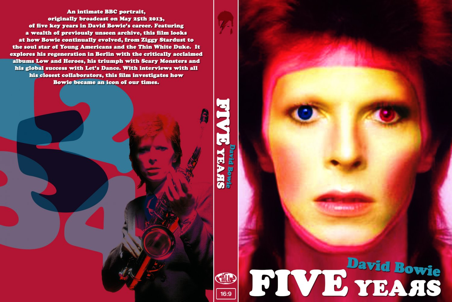 DAVID BOWIE : FIVE YEARS DVD