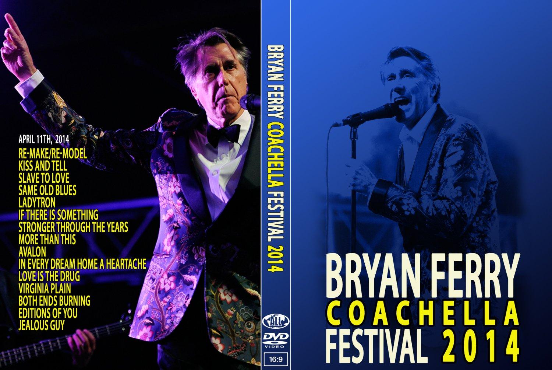 BRYAN FERRY : LIVE IN CALIFORNIA 2014 DVD