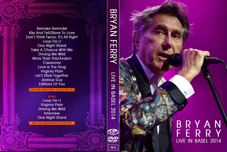 BRYAN FERRY : LIVE IN BASEL 2014 DVD