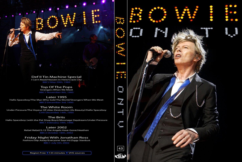 DAVID BOWIE : ON TV DVD