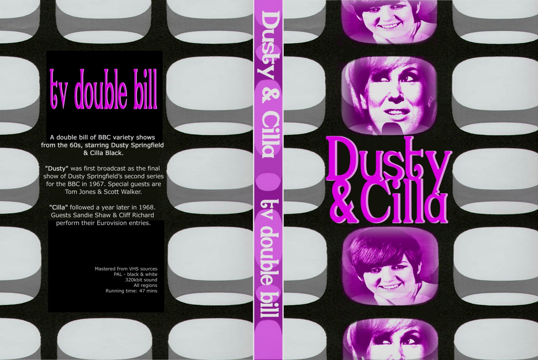 DUSTY SPRINGFIELD, CILLA BLACK : TV DOUBLE BILL DVD