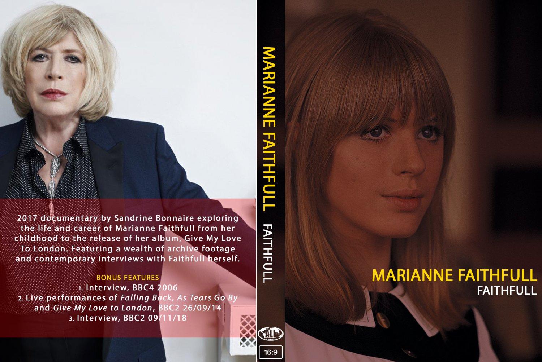 MARIANNE FAITHFULL : FAITHFULL DVD
