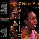 NINA SIMONE : LIVE IN EUROPE DVD