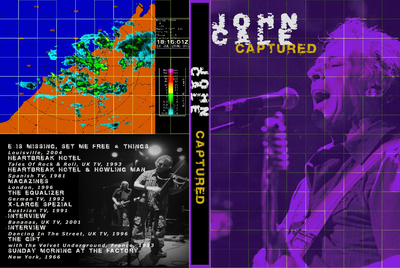 JOHN CALE : CAPTURED DVD