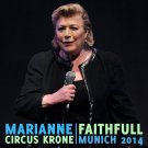 MARIANNE FAITHFULL : CIRCUS KRONE, MUNICH 2014 CD