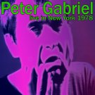 PETER GABRIEL : LIVE IN NEW YORK 1978 2CD SET