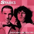 SPARKS : LIVE IN NEW YORK 1976/1982 CD