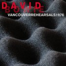 DAVID BOWIE : VANCOUVER REHEARSALS 1976 2CD SET