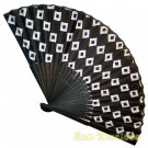 Bamboo Folding Fan Sensu Daiso Japan - Kuginuki 1.2 x 9.1 in (835533)
