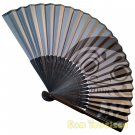 Bamboo Folding Fan Sensu Daiso Japan - Dharma Doll 1.2 x 8.3 in (835649)