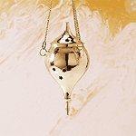 Brass Hanging Cone Burner