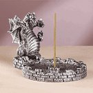 Three Headed Dragon Incense Holder