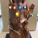 Gloves thanos infinity metal glove guantlet guanlet marvel