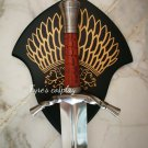 Sword of Boromir Gondor Lord of the Rings LOTR with wall plaque