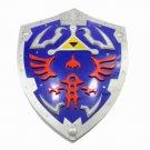 Legend of zelda link link's shield ocarina triforce steel acciaio Hylian sheild