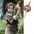 Sword needle Arya Stark's  Game of thrones blade with plaque stark