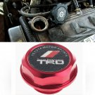 Red TRD Toyota Racing Development Engine Oil Filter Valve Cover Gasket Cap Aluminum 12180-0H012
