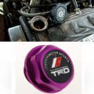 Purple TRD Toyota Racing Development Engine Oil Filter Valve Cover Gasket Cap Aluminum 12180-0H012
