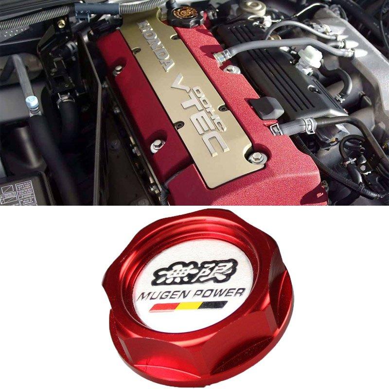 Red Mugen Acura Honda Engine Oil Filter Valve Cover Gasket