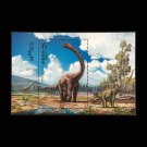 1Pcs China Dinosaur Miniature Sheet Chinese All New Postage Stamps For Collection