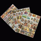 200Pcs All Different Topic Famous Printing Unused Postage Stamps With Post Mark For Collecting