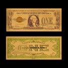 US Dollar Money 1 Dollar 24k Gold Plated Fake Currency Paper Banknote For Collections