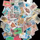 50Pcs All Different Greece Greek Used Postage Stamps Off Paper For Collection