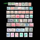 50Pcs Poland / Polska Postage Stamps With Post Mark For Collection