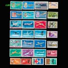 50Pcs All Different Romania Unused Postage Stamps In Good Condition For Collection