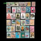 95Pcs All Different Have Used Postage Stamps With Post Mark From Italy For Collecting