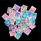 40Pcs German Republic DDR Postage Stamps With Post Mark For Collection