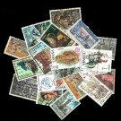 20Pcs All Different Spain Vintage Old Used Postage Stamps Off Paper For Collecting